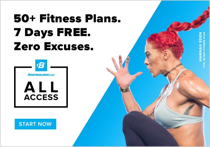 Bodybuildig.com All Access!