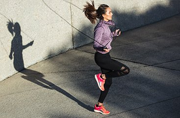Athlete Jogging