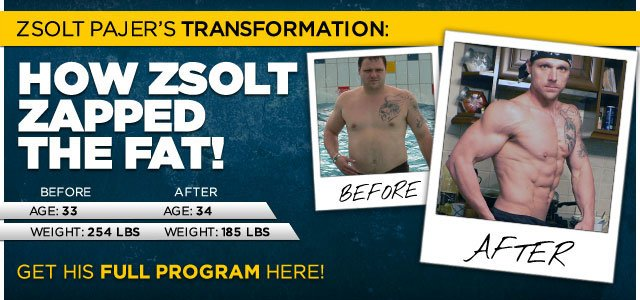 Making A Transformation This Phenomenal Requires 110% Commitment
