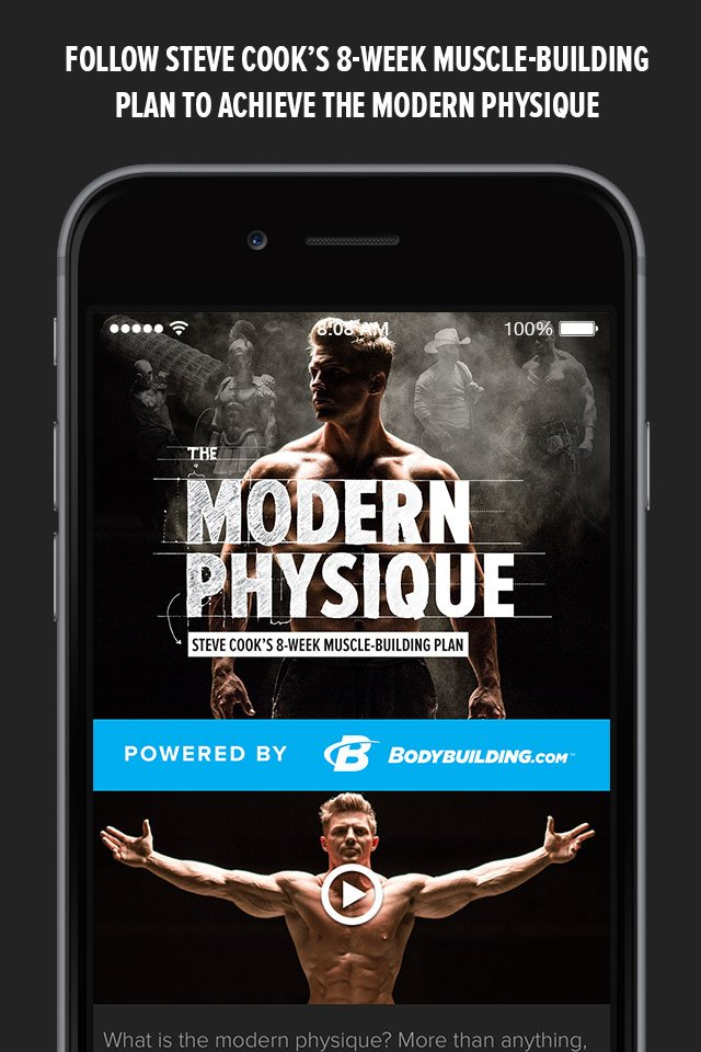 Modern Physique Steve Cook S 8 Week Trainer