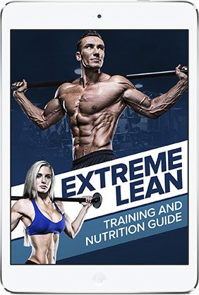 Extreme Lean - Training and Nutrition Guide Digital Book. Free with Purchase.