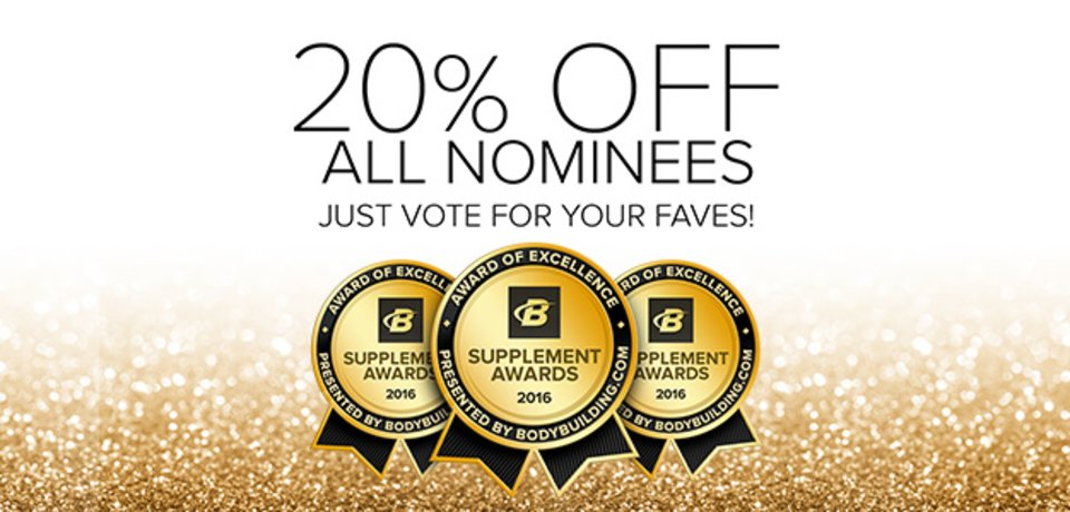 Bodybuilding.com Presents The 2016 Bodybuilding.com Supplement Awards