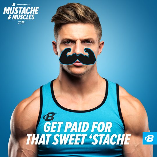#MustacheAndMuscles Social Contest Terms and Conditions
