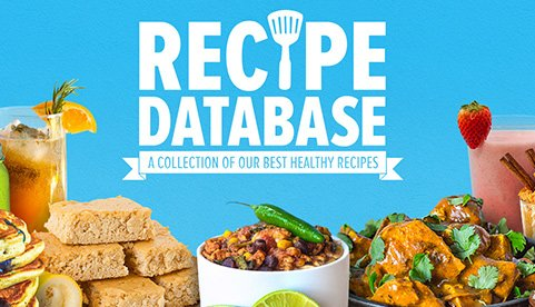 HEALTHY RECIPE DATABASE