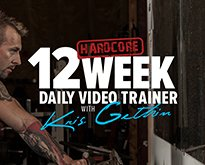 12-Week Hardcore Daily Trainer with Kris Gethin