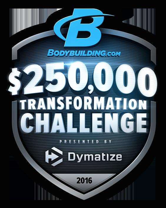 Bodybuilding.com $250,000 Transformation Challenge - Presented by Dymatize