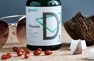Puori D3 Product Benefits