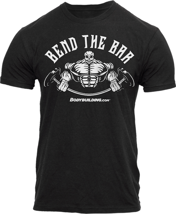 Bend the Bar t-shirt - front