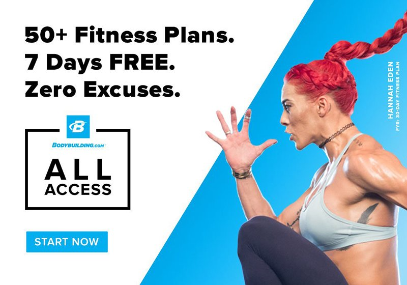 All Access Fitness Plans. Join Now.