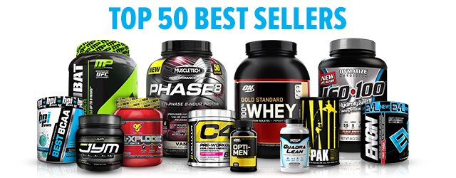 Our 50 Top Sellers