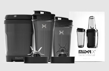 PROMiXX MiiXR X7 700W Performance Nutrition Blender - all product