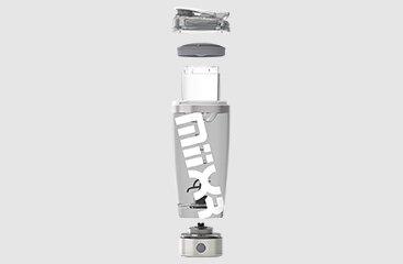 PROMiXX MiiXR Pro White - Exploded