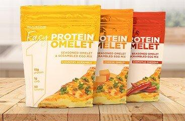 Rule 1 Easy Protein Omelet Key Ingredients