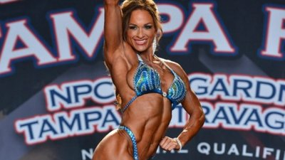 One-Time Fitness Champ Jenny Worth Slides Back Into The Spotlight