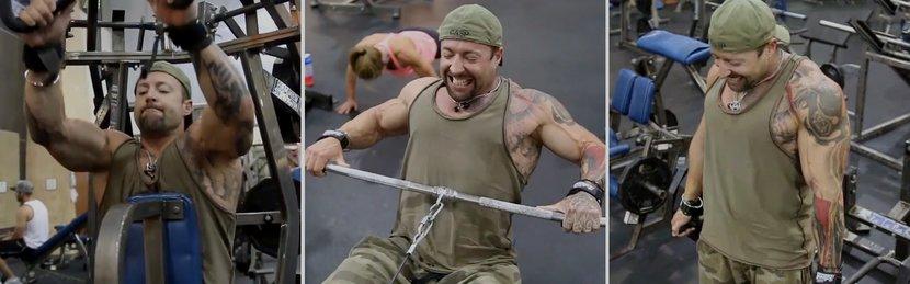 Kris Gethin's Instinctive Back Workout