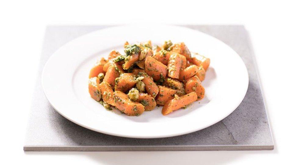 Pesto Carrot Salad