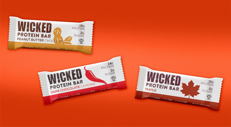 Wicked Protein Bars