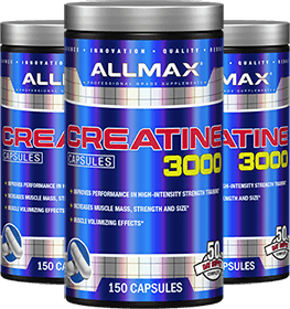 Creatine 3000 Containers
