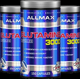 Glutamine 3000 Containers