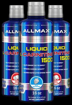 Liquid L-Carnitine Bottles