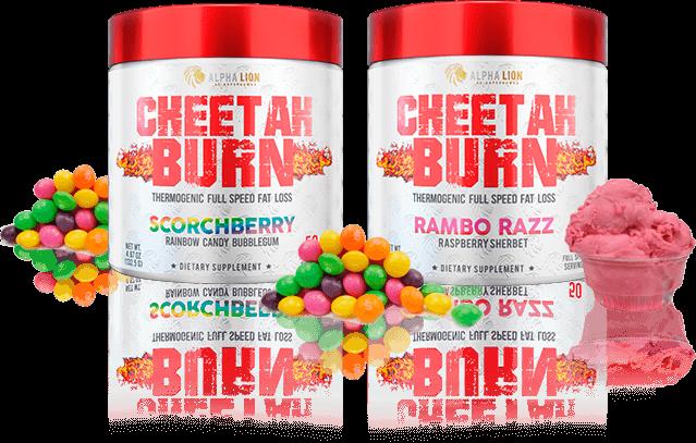 Cheetah Burn Flavors