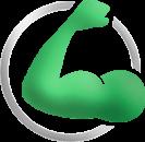 Flexing Arm Icon