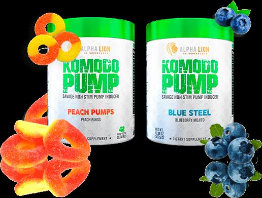 Komodo Pump Flavors