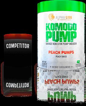 Komodo Pump vs Competitor