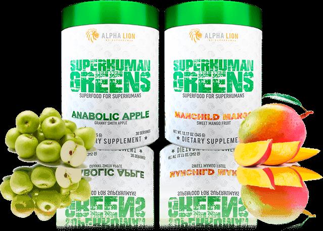 SuperHuman Greens Flavors