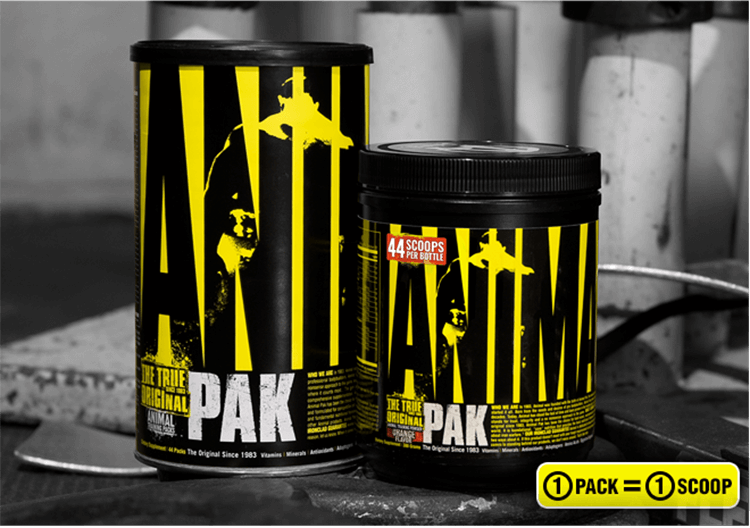Animal Pak Containers