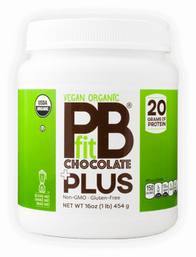 Vegan Organic PBFit Chocolate Plus Container