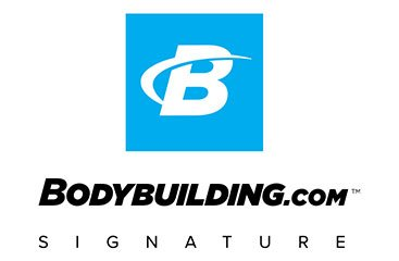 Blue Bodybuilding.com Logo