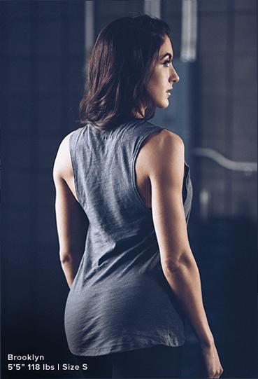 Female Model Back View