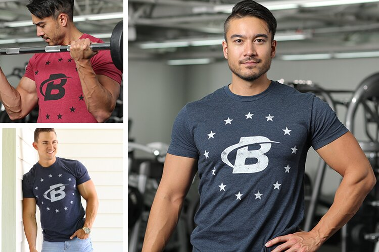 Bodybuilding.com United Tee - pictures in the gym