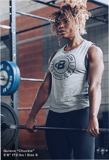 Female Model Doing Deadlift