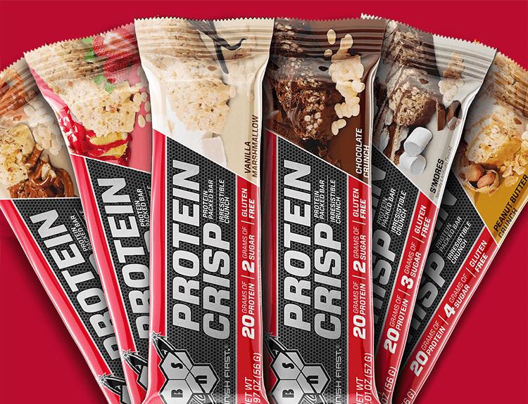 Protein Crisp Bars