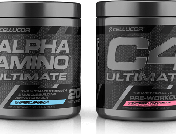 Alpha Amino Ultimate & C4 Ultimate Containers