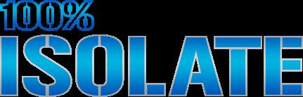 100% Isolate Logo