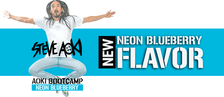 New Aoki Bootcamp Neon Blueberry