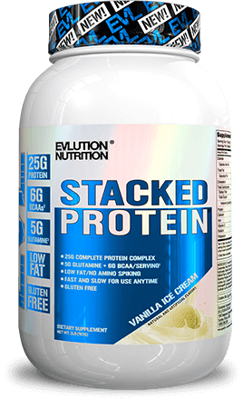 Stacked Protein Jug