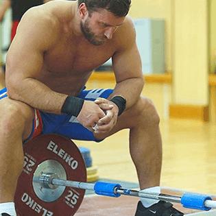 Athlete Sitting