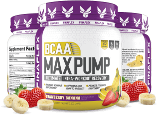 BCAA Max Pump Containers