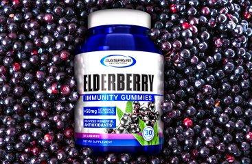 Elderberry Gummy Bottle