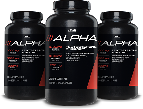 Alpha JYM Testosterone Booster | Bodybuilding.com