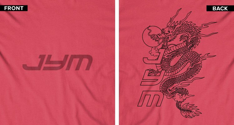 Dragon Tee Front/Back