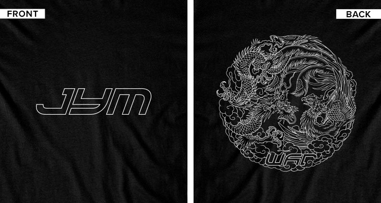War Tee Front & Back