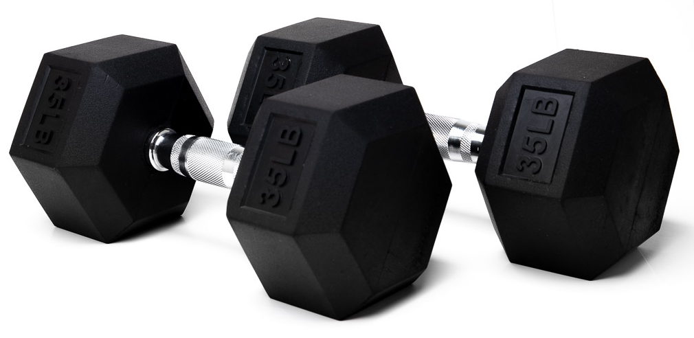 Living.Fit Dumbbells - 35 Lbs.
