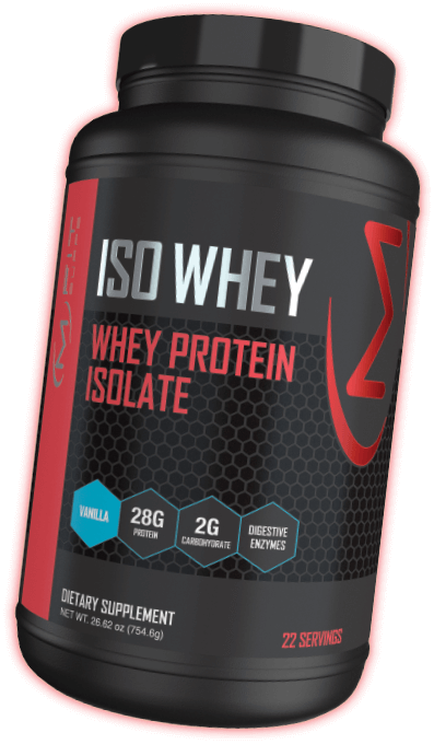 Iso Whey Container