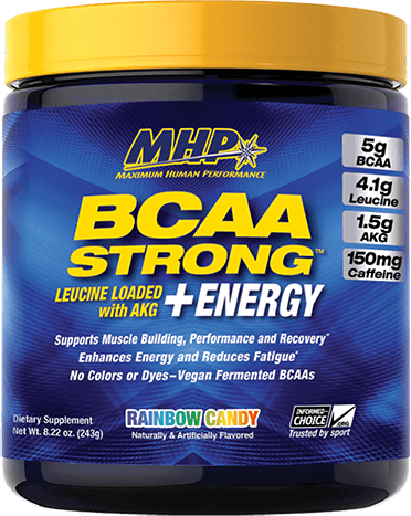 BCAA Strong Energy Container