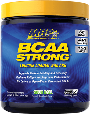 BCAA Strong Container